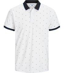 jack & jones t-shirt 12167234 jcocarlo wit
