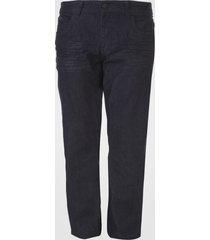 calça jeans forum reta pespontos azul-marinho