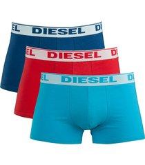 diesel boxershorts shawn 3pak blue
