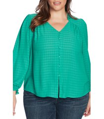 1.state button front top, size 3x in fresh grass at nordstrom