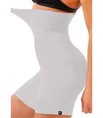 shorts cintura alta levanta bumbum e quadril lisa modelador – branco
