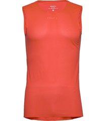 pro dry nanoweight sl m t-shirts sleeveless orange craft