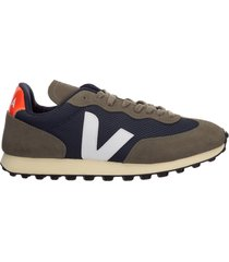 scarpe sneakers uomo camoscio rio branco