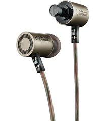 audifonos kz ed4 aislamiento ruido estereo microfono gris