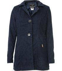 casaco queens paris botões azul-marinho