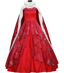 elena princess costume cosplay elena of avalor princess wedding party dress