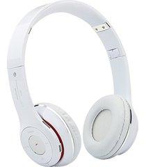 audífonos bluetooth, s460 auriculares estéreo audifonos bluetooth manos libres  audifonos bluetooth manos libres  auriculares inalámbricos (blanco0