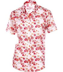 camisa pimenta rosada stella floral