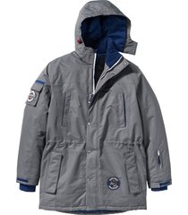 giacca lunga tecnica (grigio) - bpc bonprix collection
