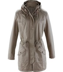 parka corto in cotone (marrone) - bpc bonprix collection