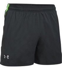 pantaloneta para hombre under armour-gris/verde