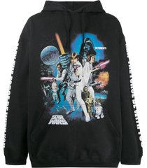 vetements x star wars graphic hoodie