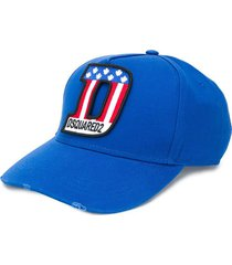 dsquared2 bluette baseball cap