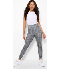 flanneled jersey legging, grey