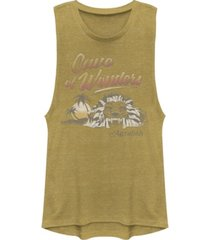 disney juniors' aladdin cave of wonder festival muscle tank top