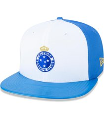 boné new era 9fifty original fit sn cruzeiro branco/azul