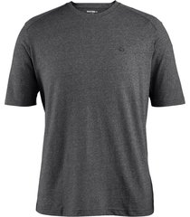 wolverine men's edge short sleeve tee (big & tall) black heather, size 4x