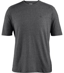 wolverine men's edge short sleeve tee (big & tall) black heather, size 3x