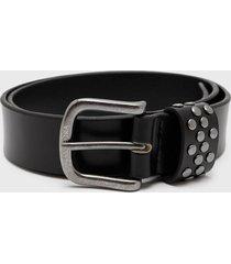 cinturón fashion belts rocky negro amphora