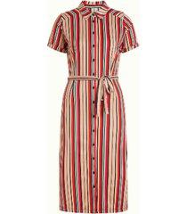 geprinte jurk rosie stripe