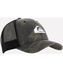gorras verde medio quiksilver 109720
