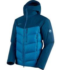 rime pro in hybrid hooded jacket men