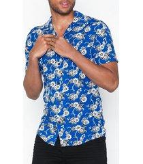 solid brando shirt tropic ss skjortor blue