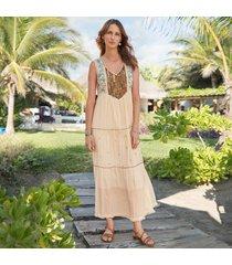 bronzed beauty dress