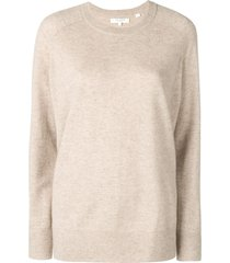 chinti and parker loose cashmere sweater - neutrals