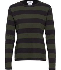 base ls tee t-shirts & tops long-sleeved groen hope