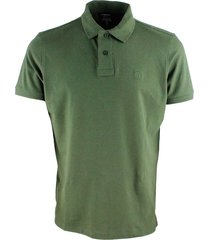 jeckerson short-sleeved polo shirt in extra-fine stretch cotton with two buttons with slits at the bottom