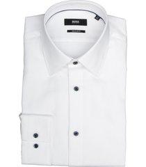 hugo boss overhemd ganos wit rf 50422946/100