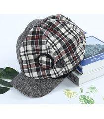 cappellino berretto con cappuccio ottagonale in cotone da donna cappellino per pittore selvaggio da viaggio di vogue outdoor