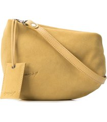 marsèll fantasmino high-low clutch - yellow