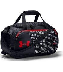 maletin under armour duffel 4.0 xs - negro/rojo