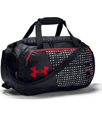 maletin under armour duffel 4.0 xs - negro/rojo