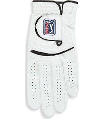 left hand leather golf glove