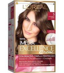 coloração imédia excellence l'oréal paris 5 castanho claro