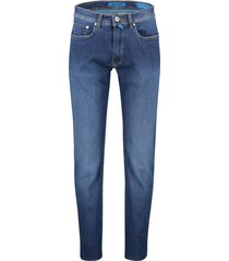 pierre cardin 5-pocket jeans stretch blauw
