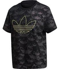 camiseta adidas cropped t shirt originals preto
