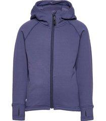 panda primaloft® hoodie outerwear fleece outerwear fleece jackets blauw isbjörn of sweden