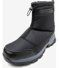 bota impermeable warm black chancleta