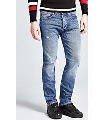 jeansy typu slim z pięcioma kieszeniami