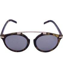 óculos de sol khatto round caçador tenro feminino