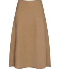 cachi knälång kjol beige weekend max mara