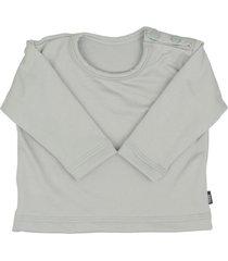 blusa tã©rmica para beb㪠segunda pele thermo premium original - cinza - cinza - poliã©ster - dafiti