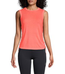 free people movement women's its a cinch ribbed tank top - black - size l