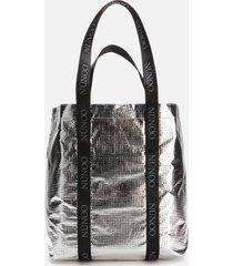 núnoo women's shopper cool bag - silver