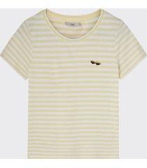 minimum gabriella t-shirt geel