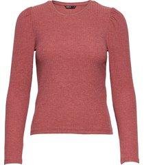 onlemma l/s puff top jrs t-shirts & tops long-sleeved röd only